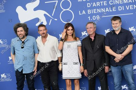 Editorial image of Competencia Oficial photocall, 78th Venice International Film Festival, Italy - 04 Sep 2021