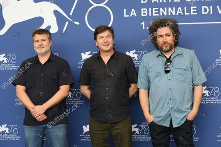 Directors Mariano Cohn and Gaston Duprat, with screenwriter Andres Duprat