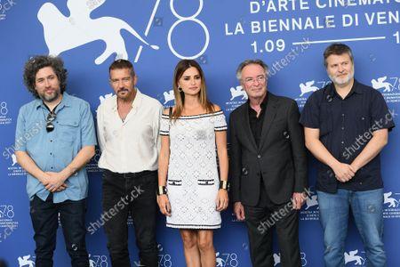 Directors Mariano Cohn and Gaston Duprat, Penelope Cruz, Antonio Banderas, Oscar Martinez