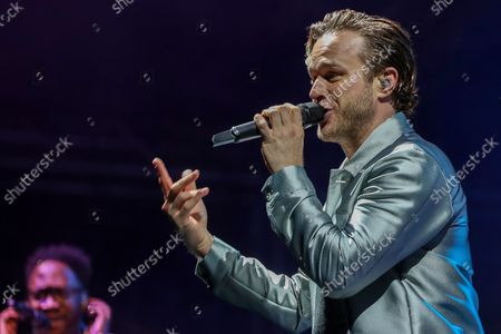 Olly Murs in concert at the Northern Echo Arena, Darlington on Saturday 28th August 2021.