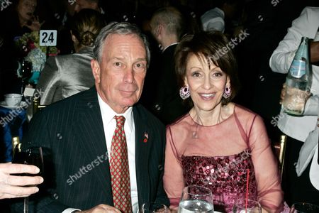 Mayor Michael Bloomberg and Evelyn Lauder