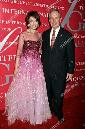 Evelyn Lauder and Mayor Michael Bloomberg