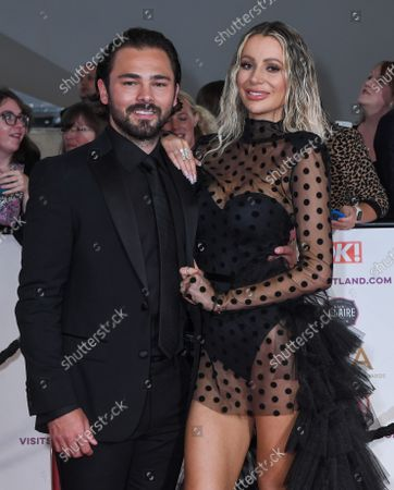 Stock Image of Bradley Dack and Olivia Attwood