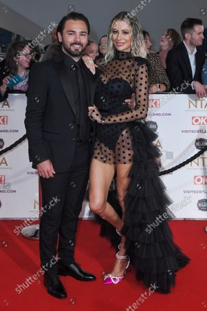 Bradley Dack and Olivia Attwood