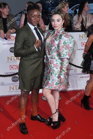 Nicola Adams and Ella Baig