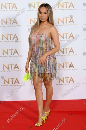 Editorial image of 26th National Television Awards, Fashion Highlights, O2, London, UK - 09 Sep 2021