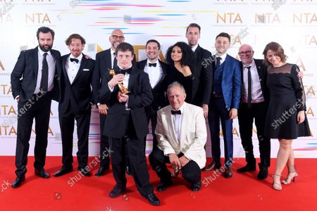 Special Recognition - Line of Duty - Nigel Boyle, Tommy Jessop, Martin Compston, Gregory Piper
