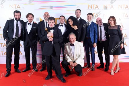 Stock Image of Special Recognition - Line of Duty - Nigel Boyle, Tommy Jessop, Martin Compston, Gregory Piper