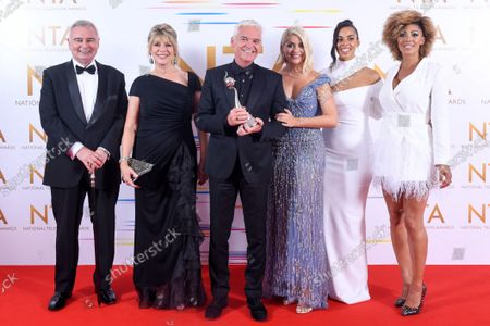 Daytime - This Morning - Eamonn Holmes, Ruth Langsford, Phillip Schofield, Holly Willoughby, Rochelle Humes and Dr Zoe Williams