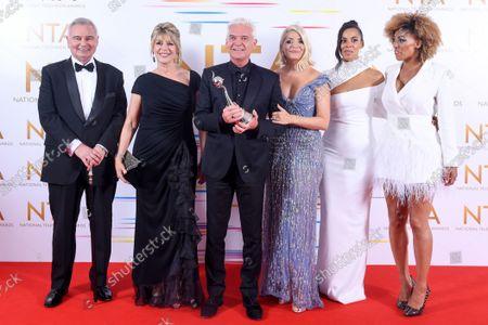 Editorial photo of 26th National Television Awards, Winners Press Room, O2, London, UK - 09 Sep 2021