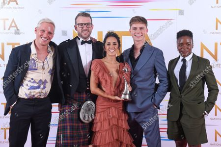 Talent Show - Strictly Come Dancing - Jamie Laing, JJ Chalmers, Janette Manrara, HRVY and Nicola Adams OBE