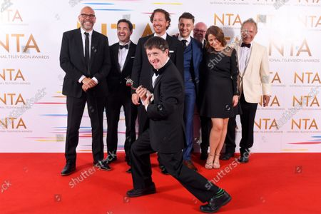 Returning Drama - Line of Duty - Tommy Jessop, Martin Compston, Nigel Boyle and Gregory Piper