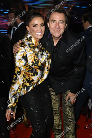Stock Picture of Katie Price and Jonathan Ross