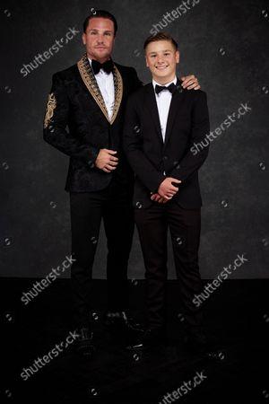 Exclusive - Tom Zanetti and son