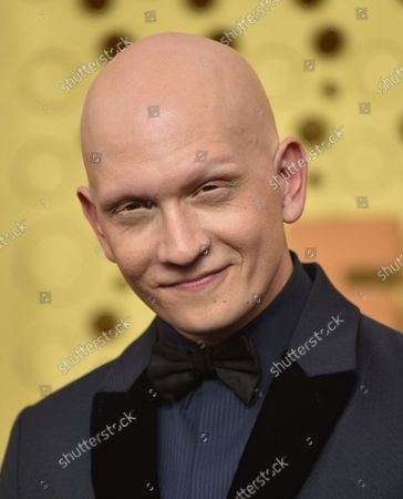Anthony Carrigan arrives for the 71st annual Primetime Emmy Awards held at the Microsoft Theater in downtown Los Angeles on Sunday, September 22, 2019.