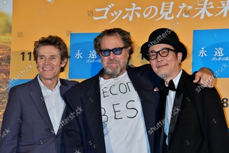 """Editorial image of """"At Eternity's Gate"""" Premiere in Tokyo, Japan - 26 Sep 2019"""