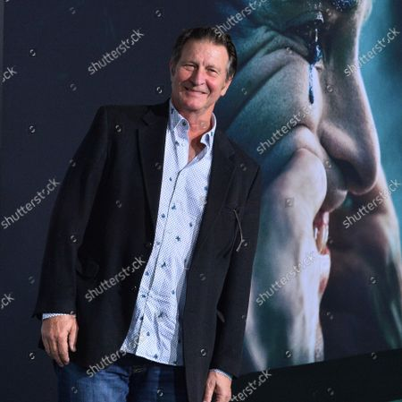 """Stock Picture of Cast member Brett Cullen attends the premiere of the motion picture thriller """"Joker"""" at the TCL Chinese Theatre in the Hollywood section of Los Angeles on Saturday, September 28, 2019. Storyline: Joker centers around an origin of the iconic arch nemesis and is an original, standalone story not seen before on the big screen. Todd Phillips' exploration of Arthur Fleck (Joaquin Phoenix), a man disregarded by society, is not only a gritty character study, but also a broader cautionary tale."""