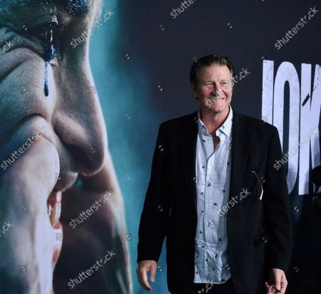 """Cast member Brett Cullen attends the premiere of the motion picture thriller """"Joker"""" at the TCL Chinese Theatre in the Hollywood section of Los Angeles on Saturday, September 28, 2019. Storyline: Joker centers around an origin of the iconic arch nemesis and is an original, standalone story not seen before on the big screen. Todd Phillips' exploration of Arthur Fleck (Joaquin Phoenix), a man disregarded by society, is not only a gritty character study, but also a broader cautionary tale."""