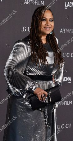 Director Ava DuVernay attends the ninth annual LACMA Art+Film gala honoring Betye Saar and Alfonso Cuaron at the Los Angeles County Museum of Art in Los Angeles on Friday, November 2, 2019.