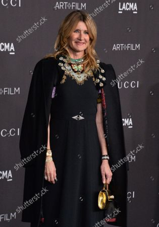 Laura Dern attends the ninth annual LACMA Art+Film gala honoring Betye Saar and Alfonso Cuaron at the Los Angeles County Museum of Art in Los Angeles on Friday, November 2, 2019.