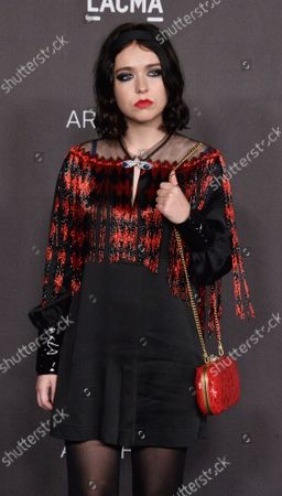 Snail Mail attends the ninth annual LACMA Art+Film gala honoring Betye Saar and Alfonso Cuaron at the Los Angeles County Museum of Art in Los Angeles on Friday, November 2, 2019.