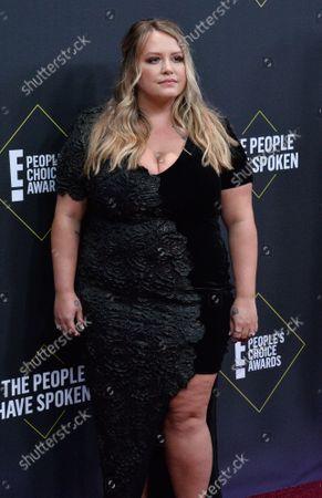 Editorial photo of E! People's Choice Awards 2019, Santa Monica, California, United States - 10 Nov 2019