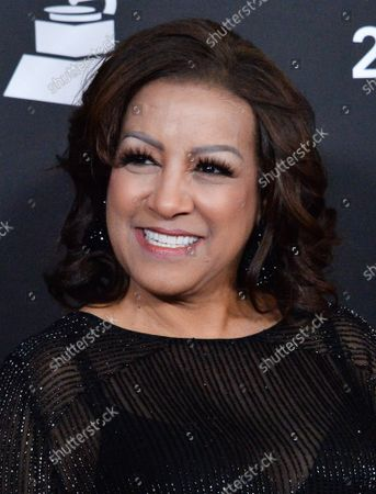 Singer Milly Quezada arrives for the Latin Grammy Person of the Year gala honoring Columbian singer Juanes at the MGM Grand Convention Center in Las Vegas, Nevada on Wednesday, November 13, 2019.