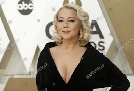 RaeLynn arrives at the 52nd Annual Country Music Association Awards at Bridgestone Arena in Nashville, Tennessee Wednesday, November 13, 2019.