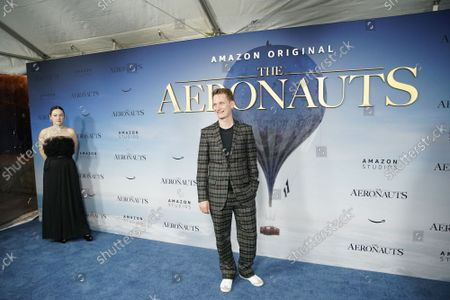 """Editorial picture of """"The Aeronauts"""" New York Premiere at SVA Theater, United States - 05 Dec 2019"""