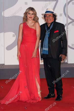 Yasmine Carrisi and Albano Antonio Carrisi aka Albano