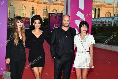 Melanie Doutey and Alba Gaia Bellugi and Fabrice Du Welz