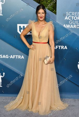 Editorial photo of SAG Awards 2020, Los Angeles, California, United States - 20 Jan 2020