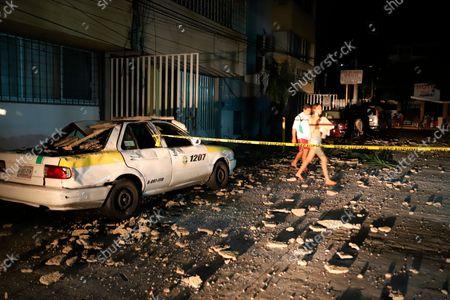 Editorial image of Earthquake, Acapulco, Mexico - 07 Sep 2021