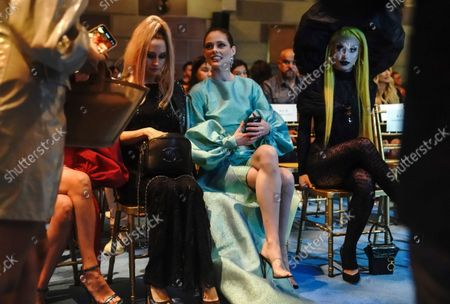 Editorial photo of NYFW Spring/Summer 2022 - Christian Siriano - Front Row, New York, United States - 07 Sep 2021