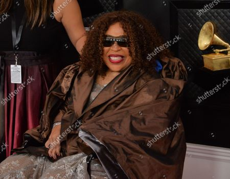 Roberta Flack arrives for the 62nd annual Grammy Awards held at Staples Center in Los Angeles on Sunday, January 26, 2020.