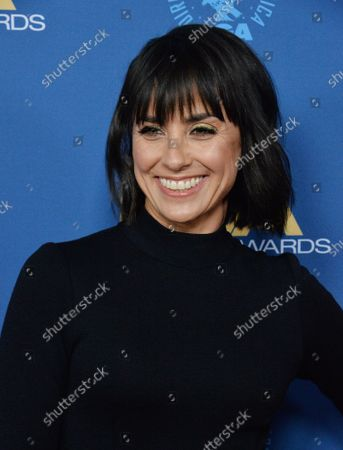 Constance Zimmer attends the 72nd annual Directors Guild of America Awards at the Ritz-Carlton in downtown Los Angeles on Saturday, January 25, 2020.