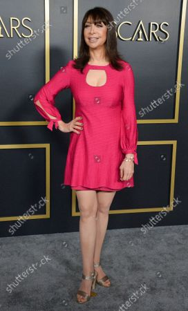 Illeana Douglas attends the 92nd annual Academy Awards Oscar nominees luncheon at the the Loews Hotel in Los Angeles on Monday, January 27, 2020.