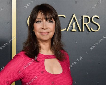 Stock Image of Illeana Douglas attends the 92nd annual Academy Awards Oscar nominees luncheon at the the Loews Hotel in Los Angeles on Monday, January 27, 2020.