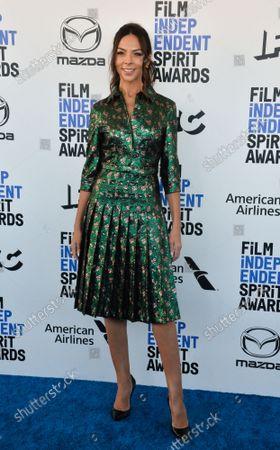 Terri Seymour attends the 35th annual Film Independent Spirit Awards in Santa Monica, California on Saturday, February 8, 2020.  UPI Photo Jim Ruymen/UPI