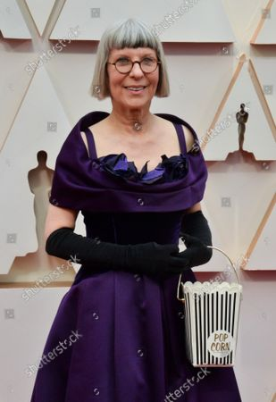 Lois Burwell arrives for the 92nd annual Academy Awards at the Dolby Theatre in the Hollywood section of Los Angeles on Sunday, February 9, 2020.