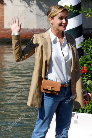 Editorial photo of Celebrity Sightings, 78th Venice International Film Festival, Italy - 08 Sep 2021