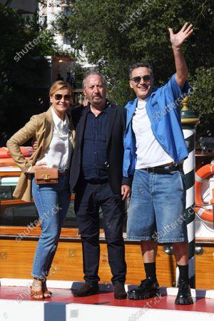 Lucia Mascino, Giuseppe Piccioni and Filippo Timi