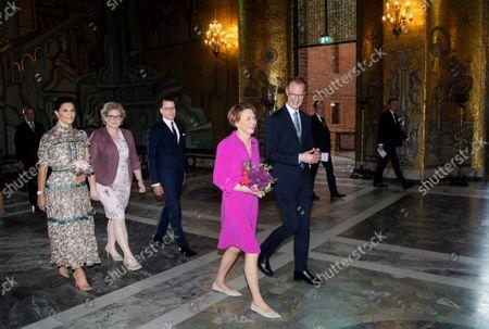 Editorial image of German Federal President visit to Sweden, Day 2, Stockholm, Sweden - 08 Sep 2021