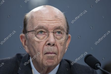 Commerce Secretary Wilbur Ross testifies at the House Appropriations Commerce, Justice, Science, and Related Agencies Subcommittee Hearing on Department of Commerce Budget Request for FY2021 on Capitol Hill in Washington, D.C. on Tuesday, March 10, 2020.