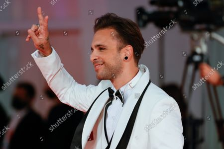 """Stock Image of Alessio Bernabei attends the red carpet of the movie """"Old Henry"""""""