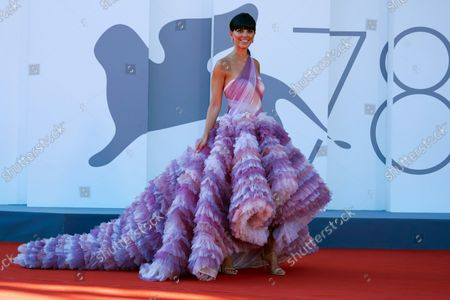 Editorial image of 'Kapitan Volkonogov Bezhal' premiere, 78th Venice International Film Festival, Venice, Italy - 08 Sep 2021