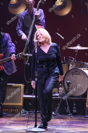 Editorial photo of Lesley Gore performs with the cast of 'Million Dollar Quartet,' Nederlander Theatre, New York, America - 28 Oct 2010