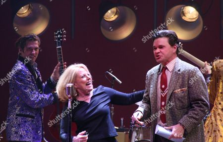 Editorial picture of Lesley Gore performs with the cast of 'Million Dollar Quartet,' Nederlander Theatre, New York, America - 28 Oct 2010