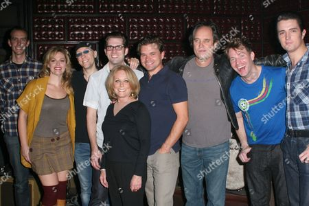 Editorial image of Lesley Gore performs with the cast of 'Million Dollar Quartet,' Nederlander Theatre, New York, America - 28 Oct 2010