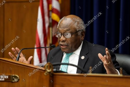 Oversight and Reform Subcommittee Chairman James E. Clyburn speaks before the House Select Subcommittee on the Coronavirus Crisis on Capitol Hill in Washington, DC on September 1, 2020.
